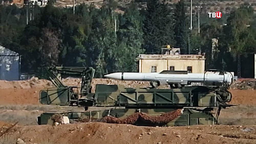 Системы ПВО в Сирии