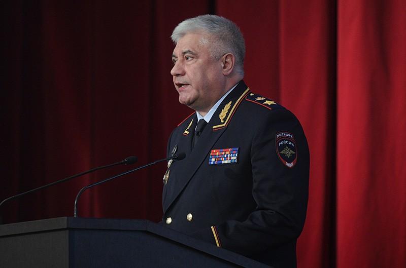 Министр внутренних дел России Владимир Колокольцев
