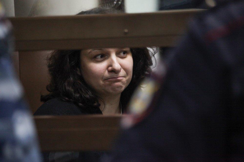 Врач-гематолог Елена Мисюрина в зале суда