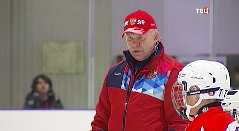 Хоккеист Вячеслав Фетисов