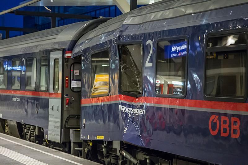 Авария поезда в Австрии