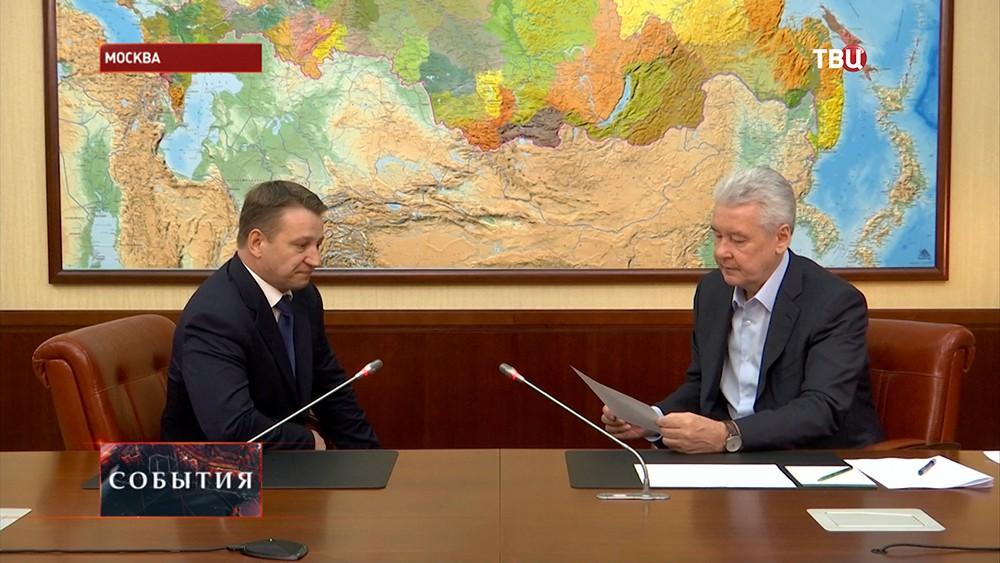 Сергей Собянин проводит личный прием жителей Москвы