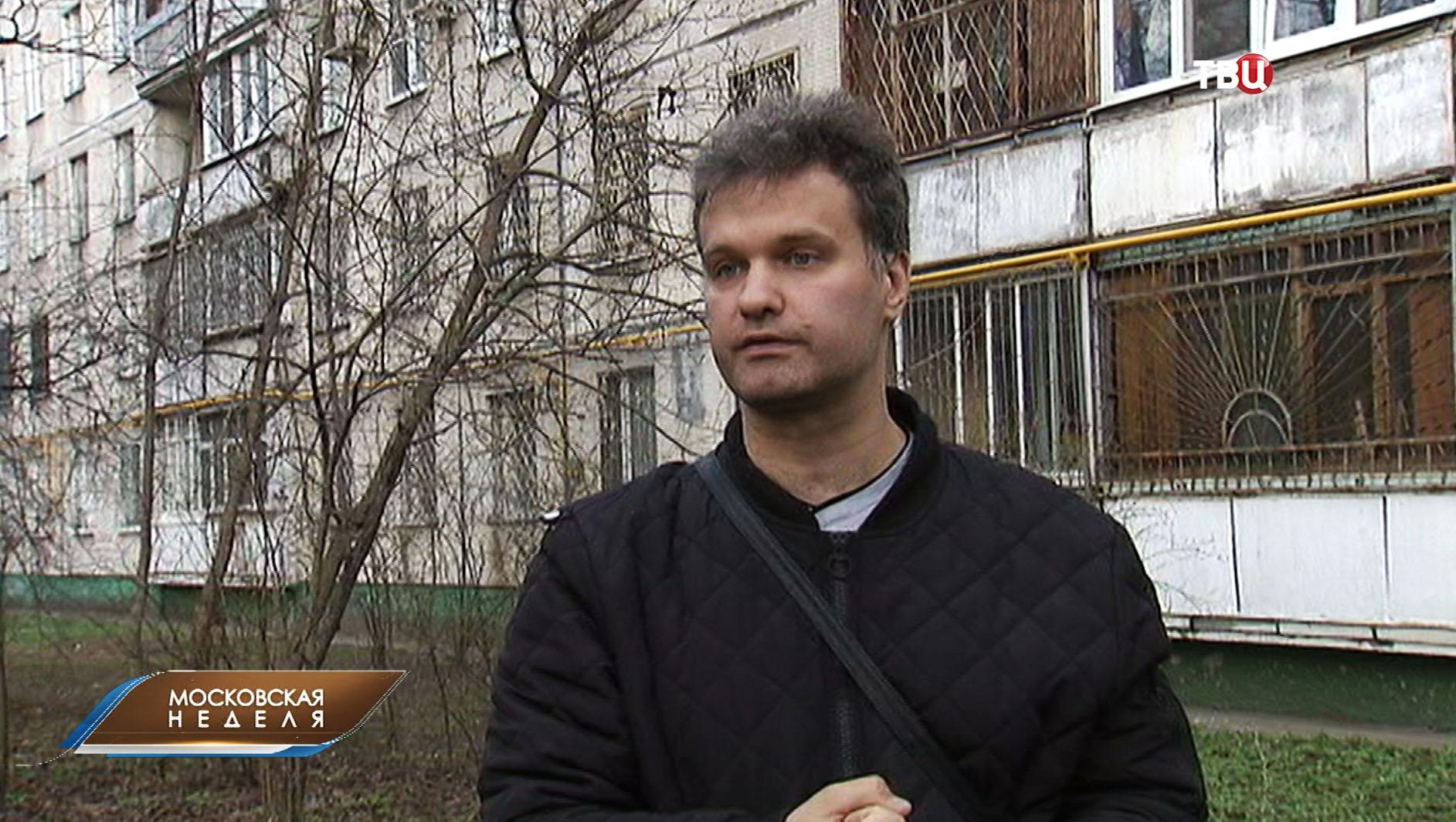 Волонтер Алексей Тихомиров