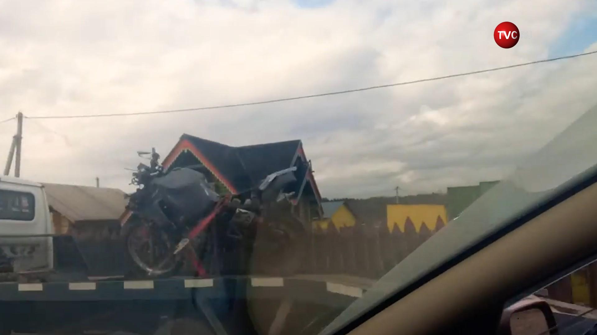 Последствия ДТП с участием мотоцикла