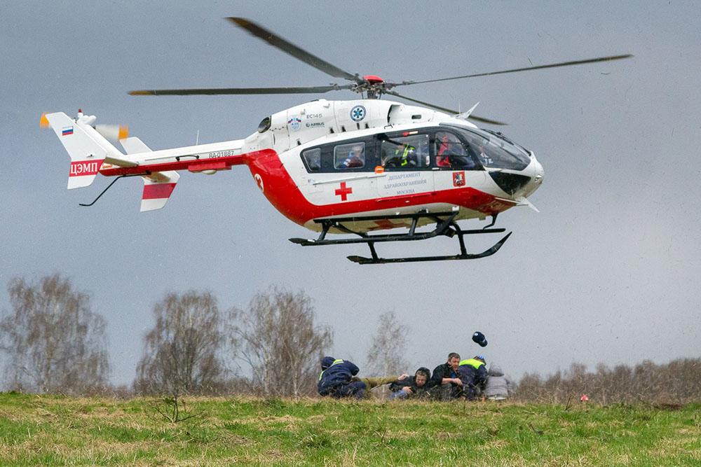 Медицинский вертолёт