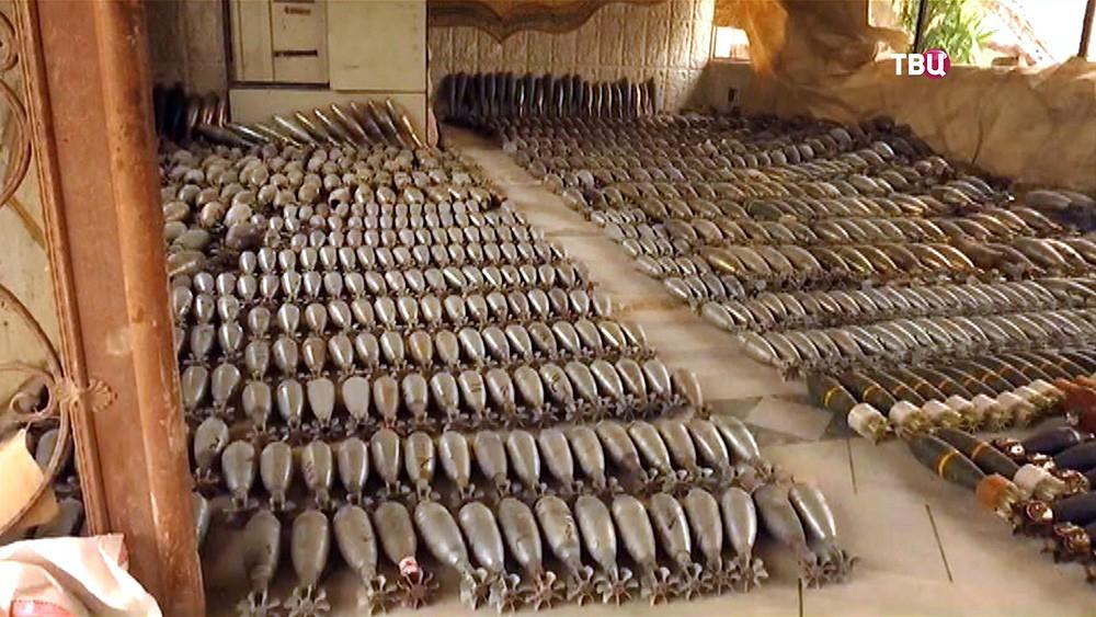 Последствия разминирования сирийскими саперами освобожденных территорий