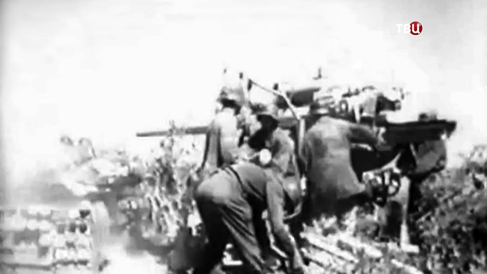 Немцы на архивных кадрах Второй мировой войны