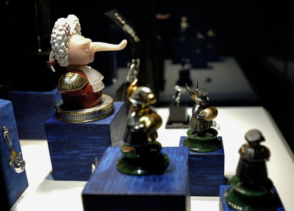 Ювелирные миниатюры скульптора Михаила Шемякина