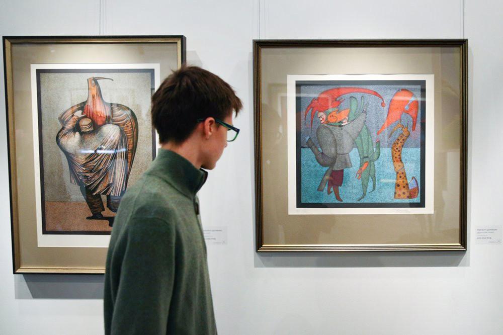 Выставка картин Михаила Шемякина
