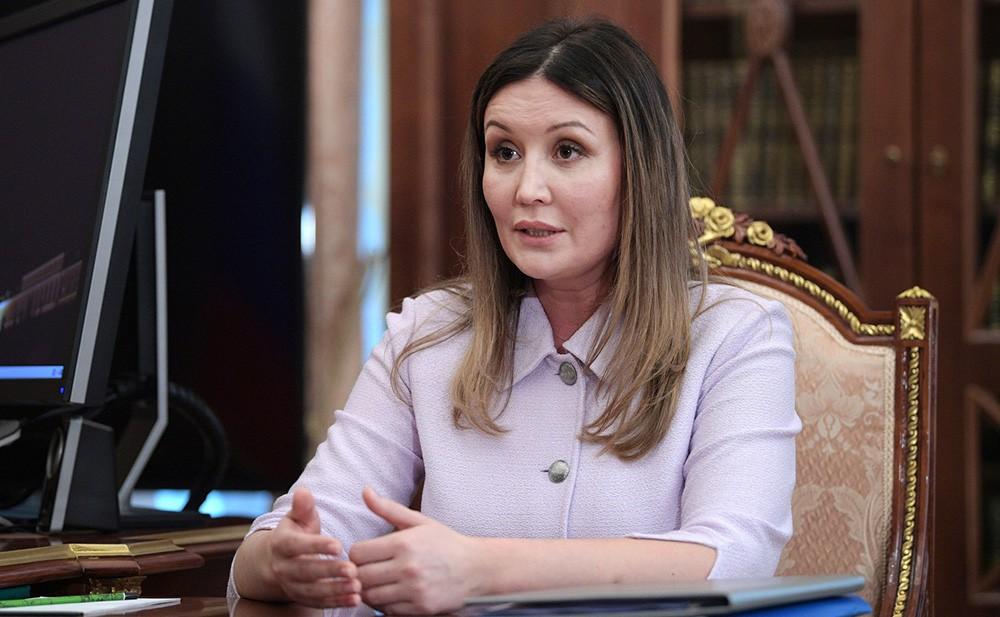 Гендиректор Агентства стратегических инициатив Светлана Чупшева