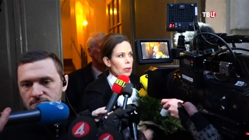Постоянный секретарь Шведской академии Сара Даниус