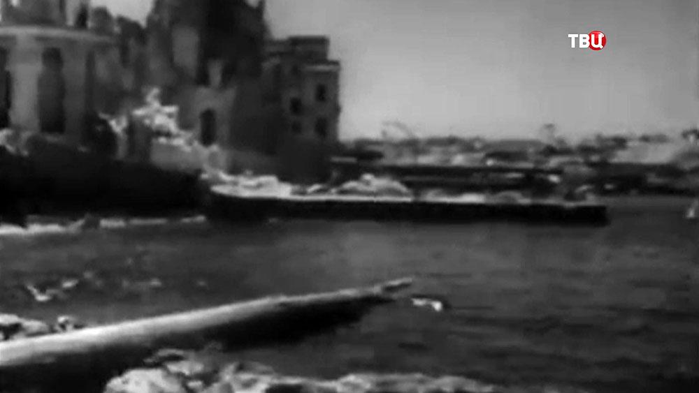 Архивные кадры Второй мировой войны в Крыму