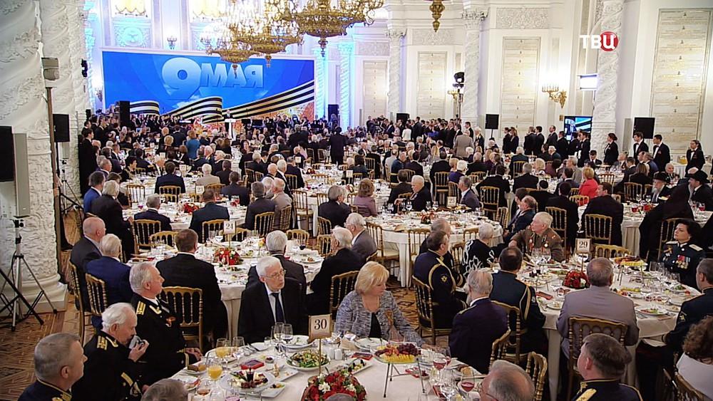 Торжественный приём по случаю Дня Победы в Кремле