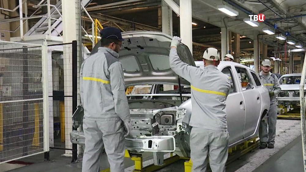 Производство автомобилей в Иране