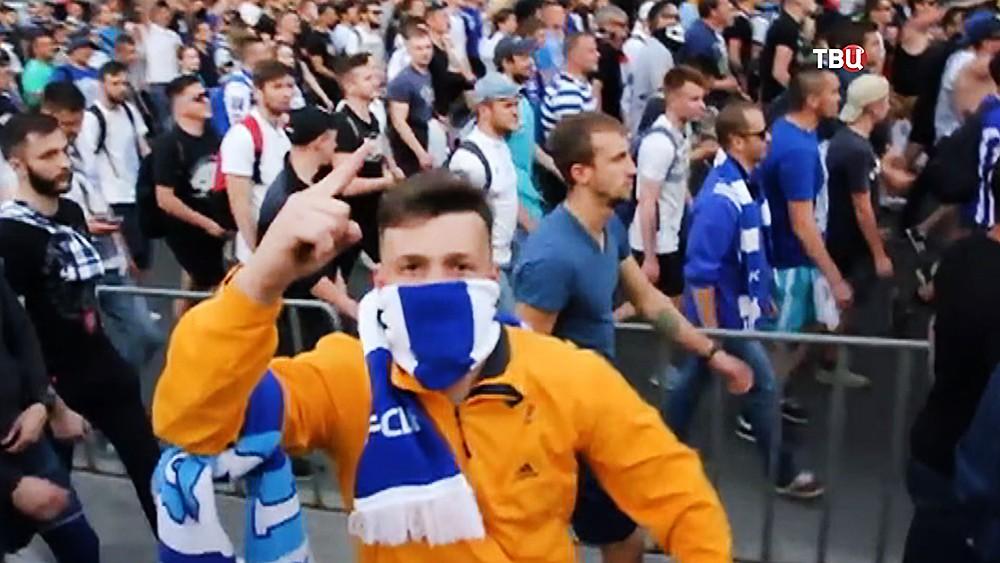 Украинские футбольные фанаты