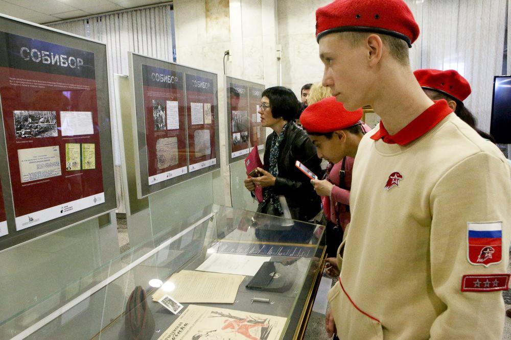 Выставка, посвященная восстанию в Собиборе