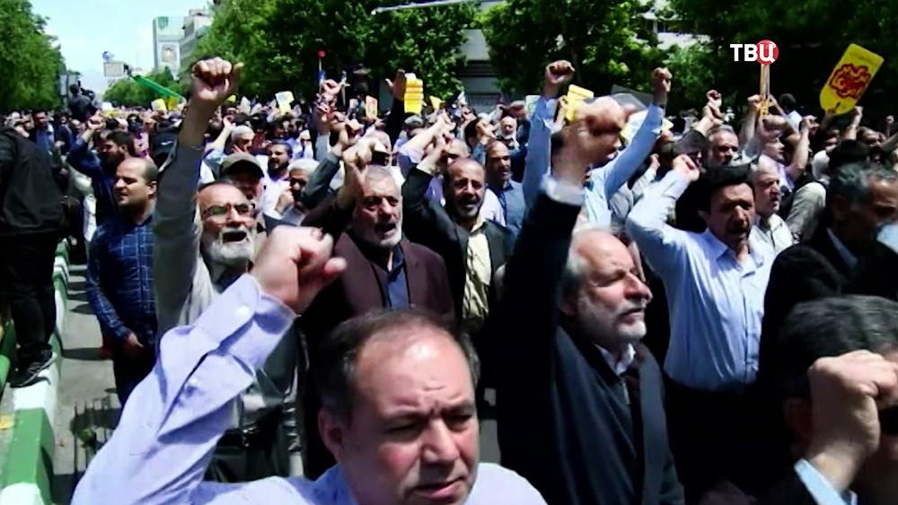 Уличные протесты в Иране