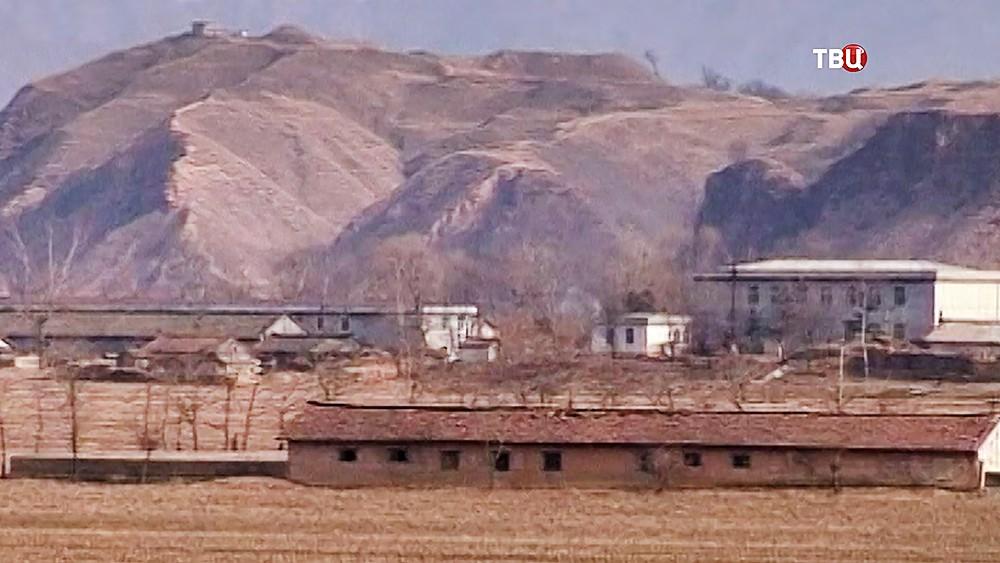 Ядерный полигон в КНДР