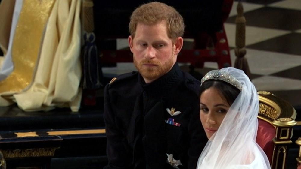Венчание принца Гарри Уэльского и Меган Маркл