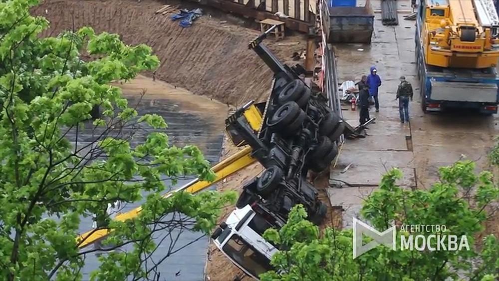 Последствия падения строительного крана