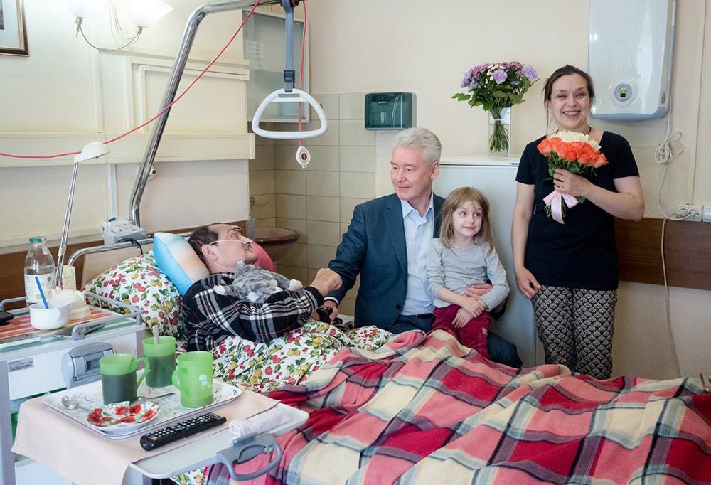 Сергей Собянин посетил Первый московский хоспис имени В.В. Миллионщиковой