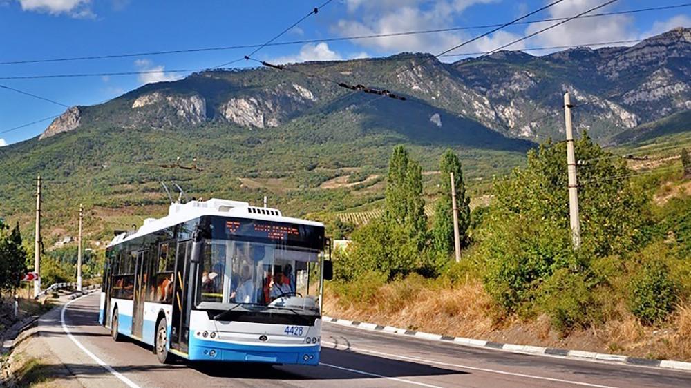 Троллейбусное движение в Крыму
