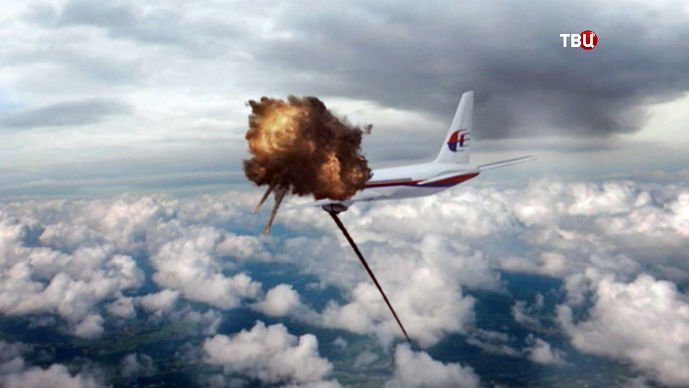 Моделирование крушения малайзийского самолета Boeing 777