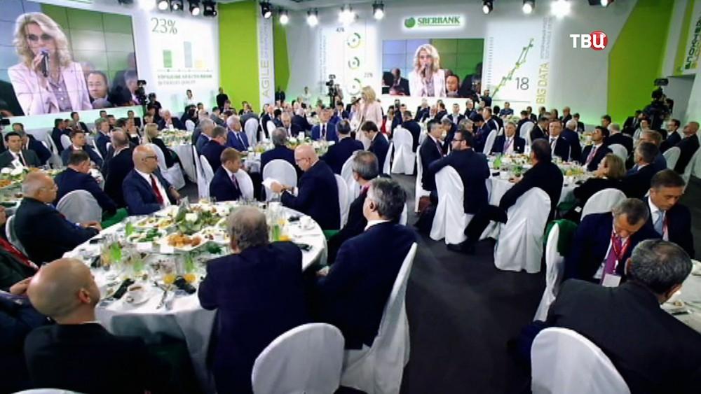 Деловой завтрак на Международном экономическом форуме в Санкт-Петербурге