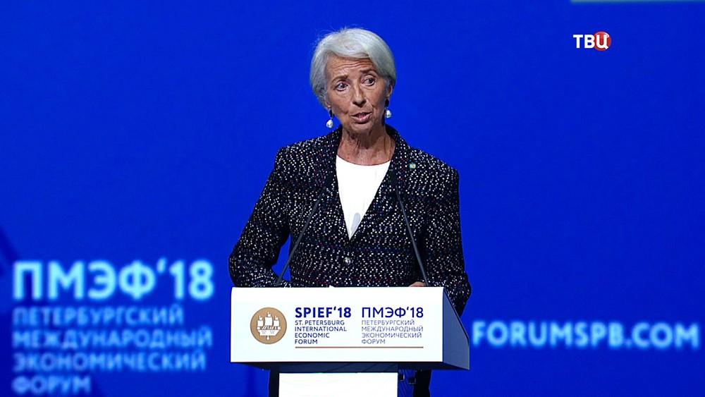 Иректор-распорядитель МВФ Кристин Лагард