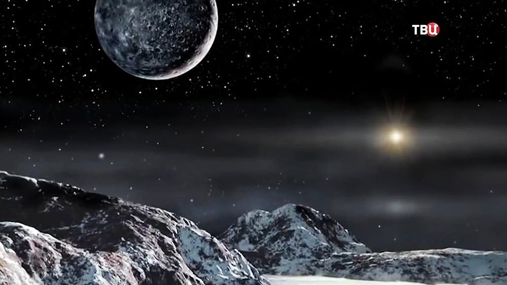 Модель поверхности планеты