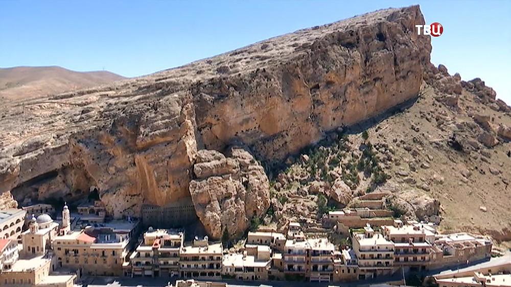 Православный монастырь в Сирии