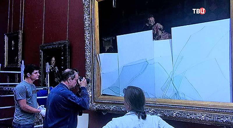 Картина Ильи Репина «Иван Грозный и его сын Иван»