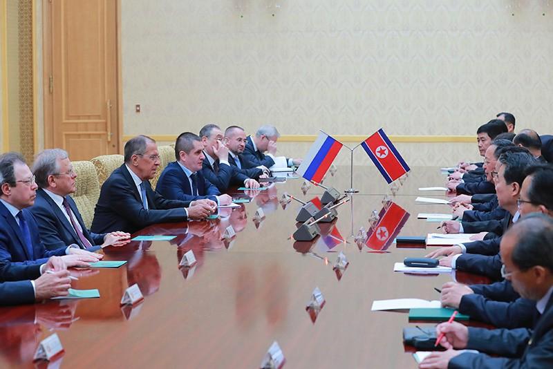 Рабочая поездка главы МИД России Сергея Лаврова в КНДР