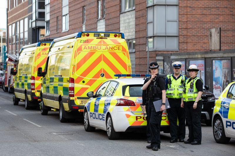 Полиция в Манчестере