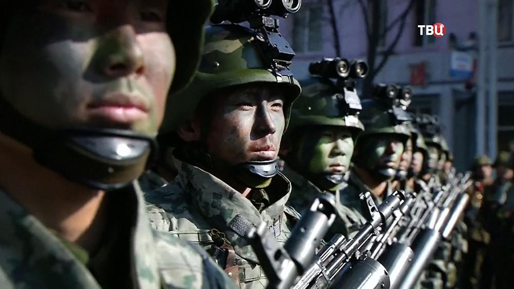 Военнослужащие КНДР