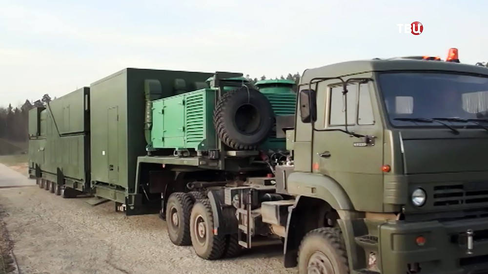 """Фургон для боевого лазера """"Пересвет"""""""