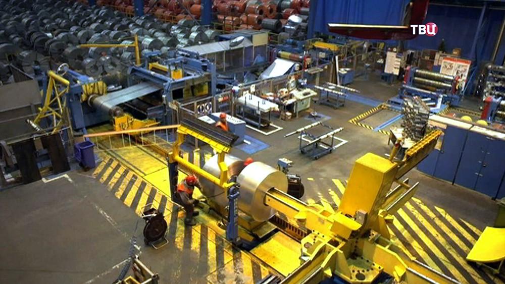 Металлургический завод в Европе