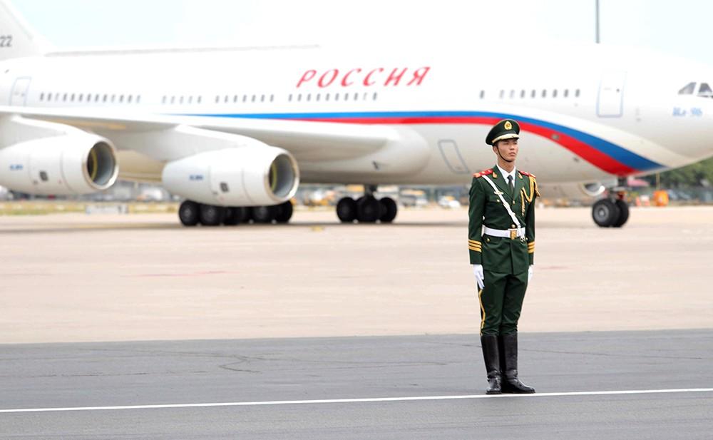 Президент России прибыл в Китай