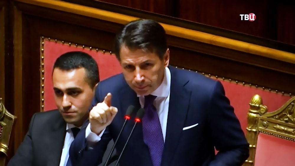 Премьер Италии Джузеппе Конте