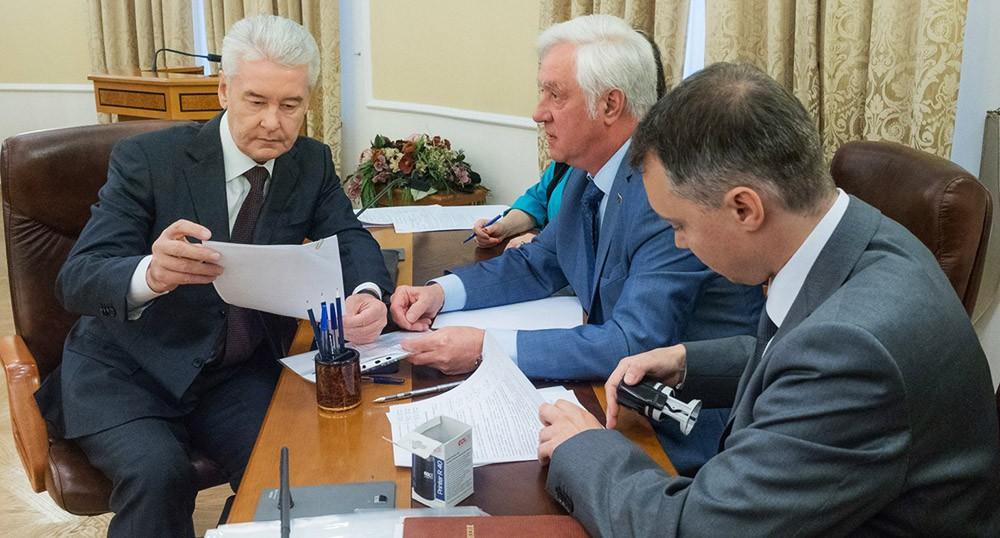 Сергей Собянин подал документы на выдвижение кандидатом на выборах мэра