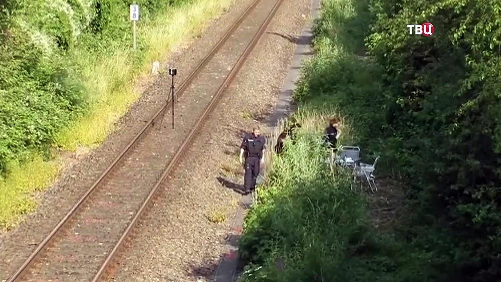 Поисковая операция полиции Германии