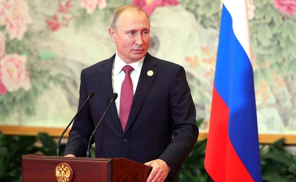 Президент России России Владимир Путин
