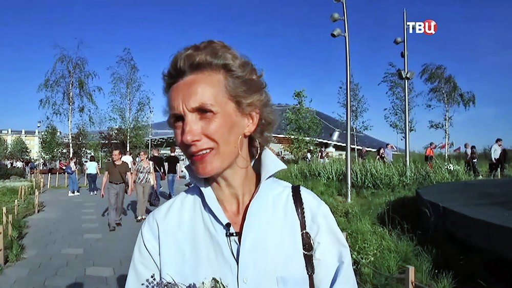 Писательница Анна Гавальда
