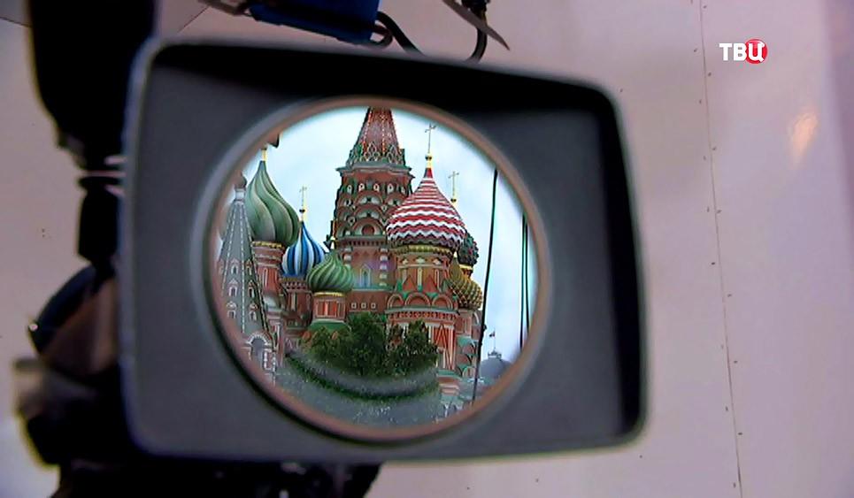 Москва в объективе камеры
