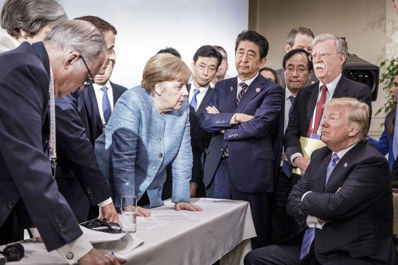 Встреча лидеров саммита G7