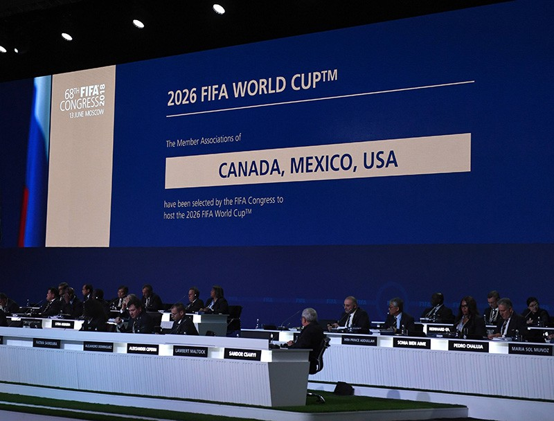 Заседание конгресса ФИФА