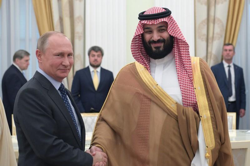Владимир Путин и Мухаммед ибн Салман Аль Сауд