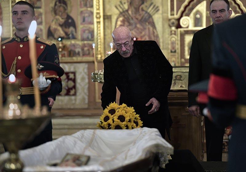 Прощание с режиссёром Станиславом Говорухиным