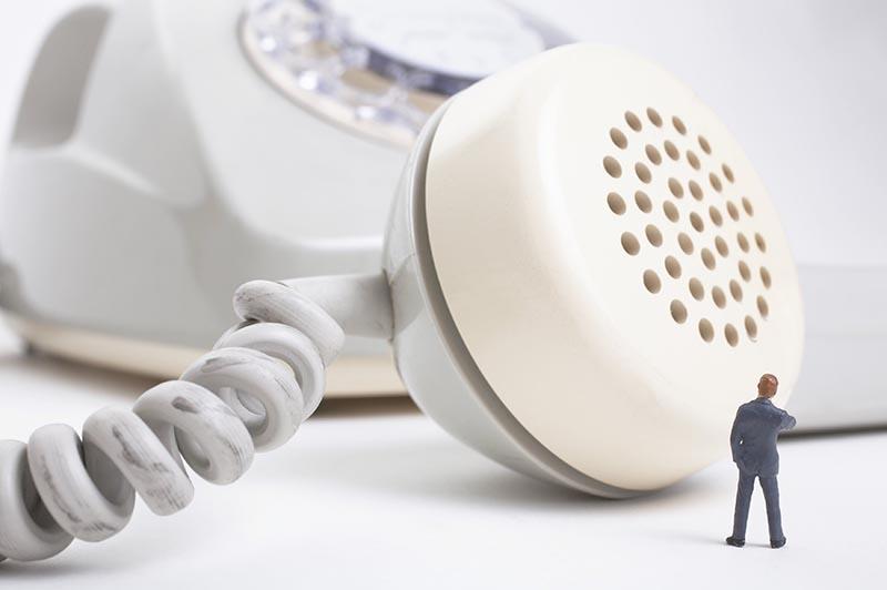 Прослушивание телефонного разговора