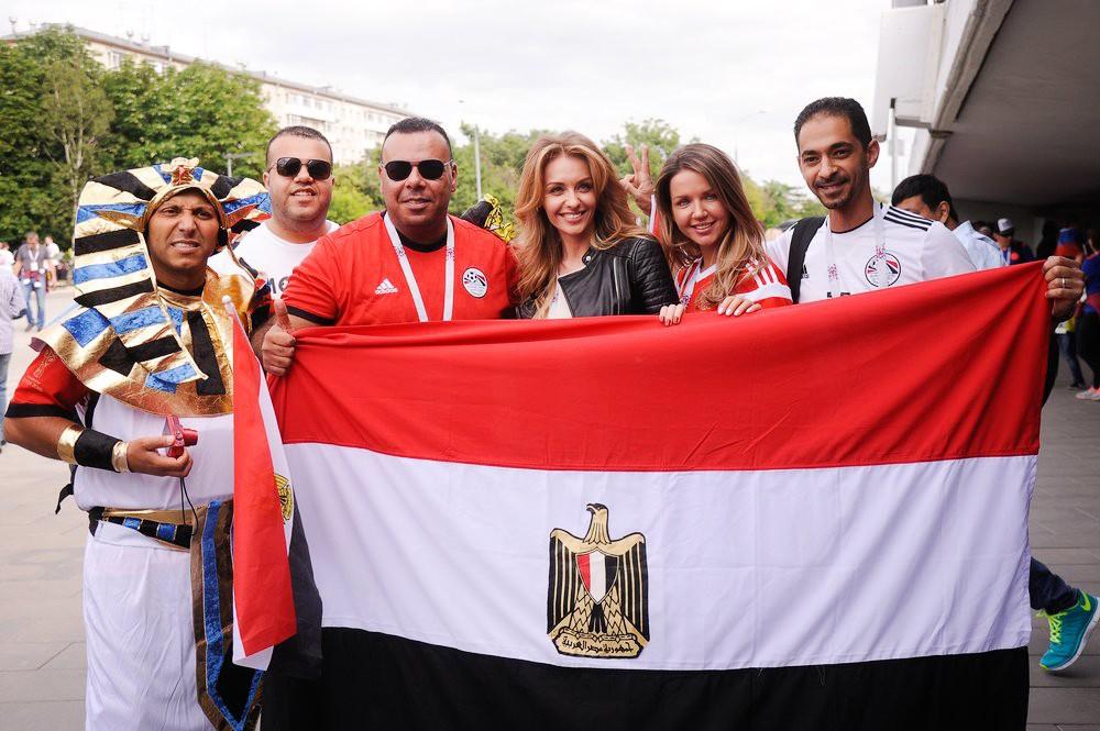 Болельщики Египта